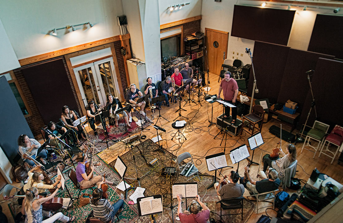 Atlanta Pops Orchestra recording In The Spirit with John Driskell Hopkins