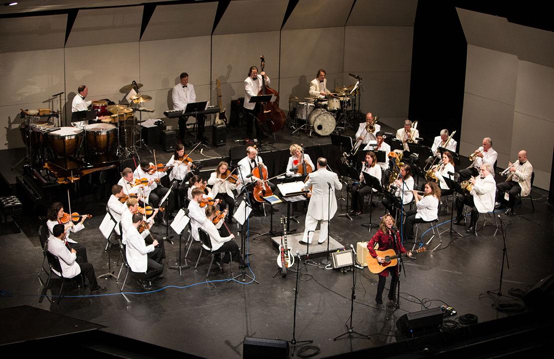 Michelle Malone at the Atlanta Pops Orchestra 70th Anniversary Gala