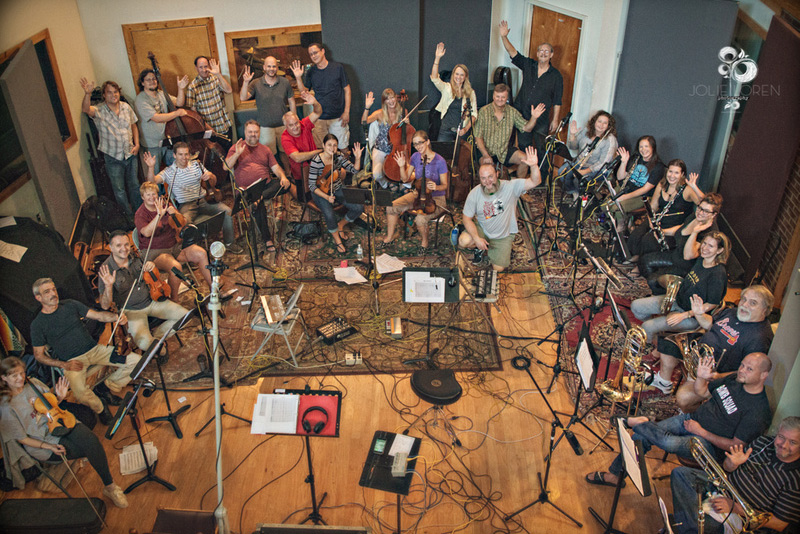 John Driskell Hopkins & Atlanta Pops Orchestra - In The Spirit: A Celebration of the Holidays recording session - August 3 & 4, 2015 - Photo by Jolie Loren Photography