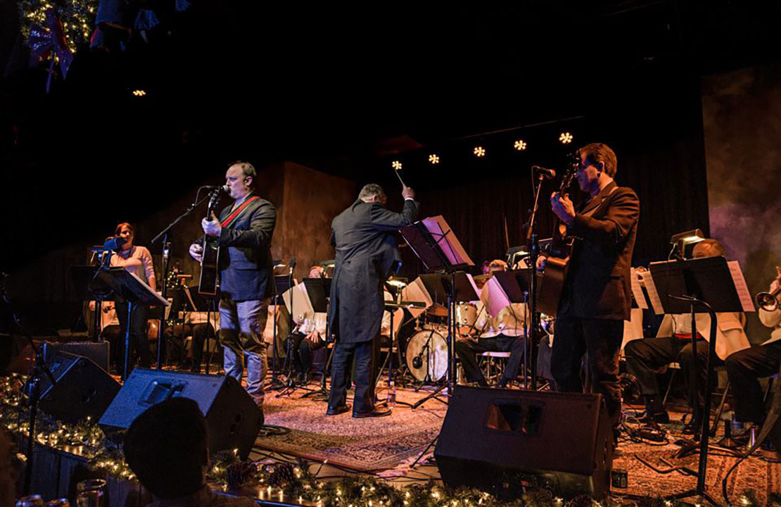John Driskell Hopkins & Atlanta Pops Orchestra Ensemble - The Vista Room, 2016 (photo by Jolie Loren Photography)