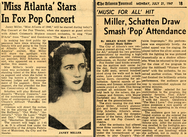 Janey Miller and the Atlanta Pops