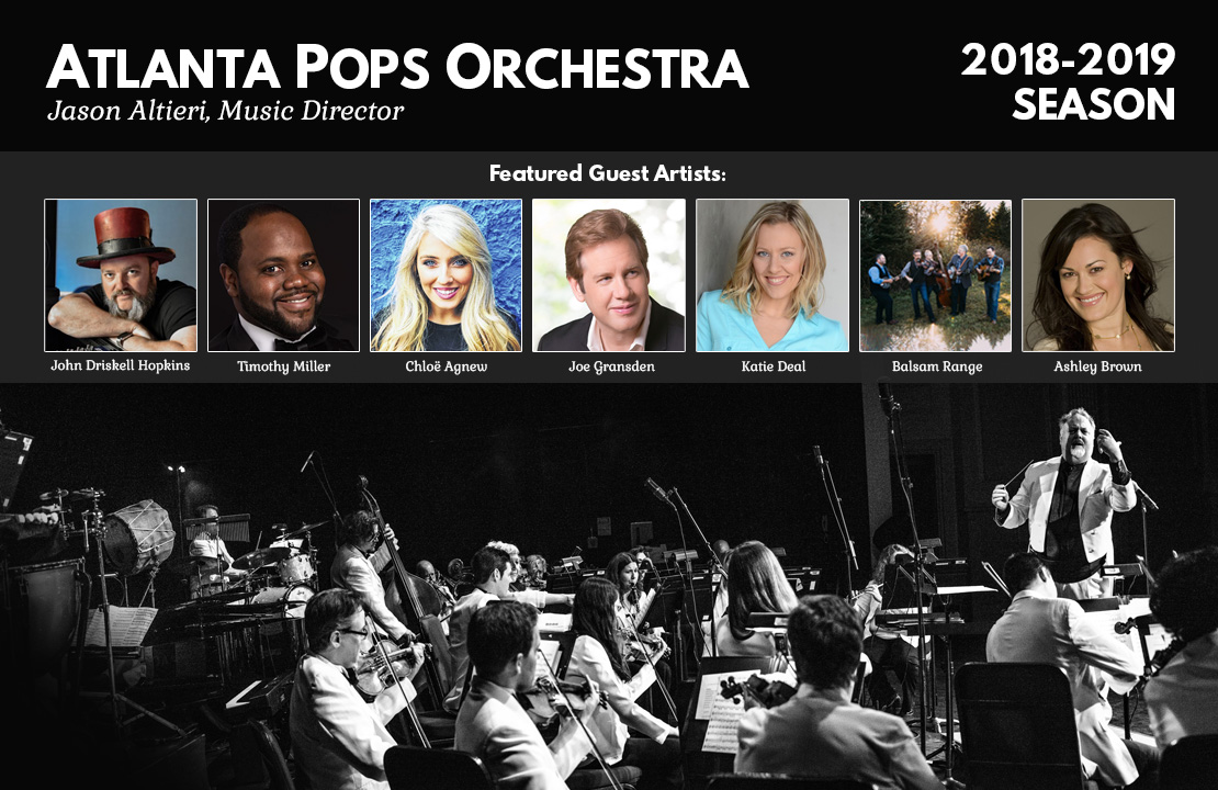 Atlanta Pops Orchestra 2018-2019 Season