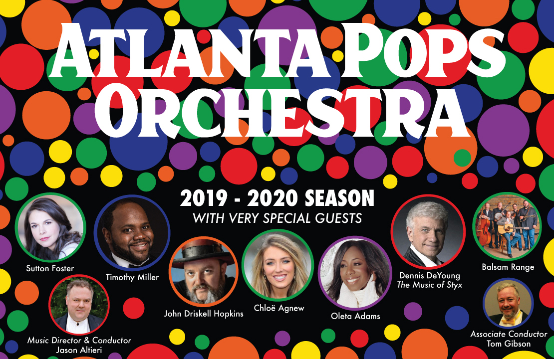 Atlanta Pops Orchestra 2019-2020 Season