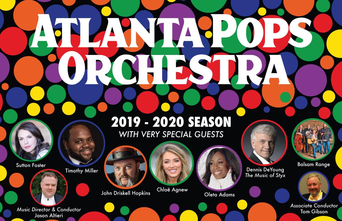Atlanta Pops Orchestra 2019-2020 Season